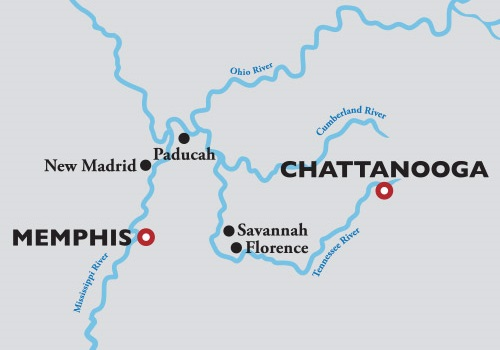 American Duchess, Ohio & Tennessee Rivers ex Memphis to Chattanooga – 10 Oct 2021