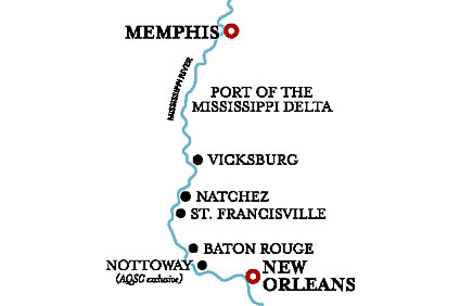 Lower Mississippi Cruise – 29 Aug 2021
