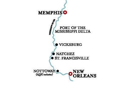 Lower Mississippi Cruise – 14 Mar 2022
